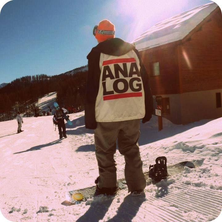 My fav jacket. djfinger.com. #analog #snowboard #stepchild