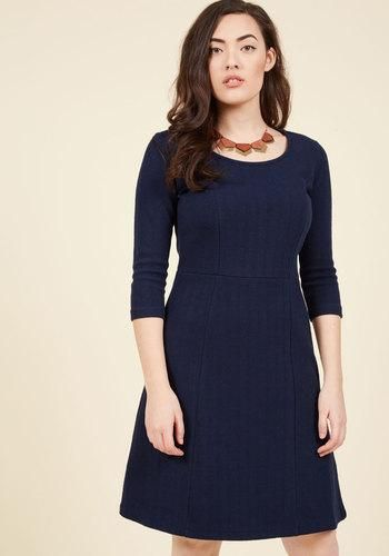 ModCloth - ModCloth Simply and Truly A-Line Dress in M - AdoreWe.com