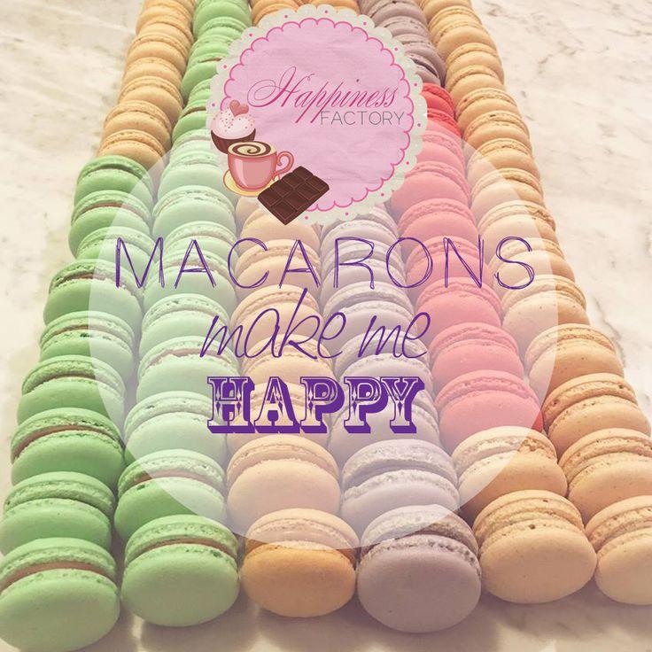http://tovarennastastie.sk/ Macarons make me happy!