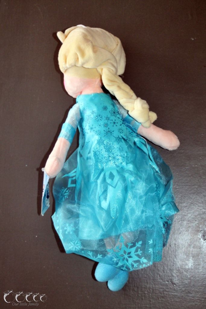 Peluches reine des neiges aliexpress 3