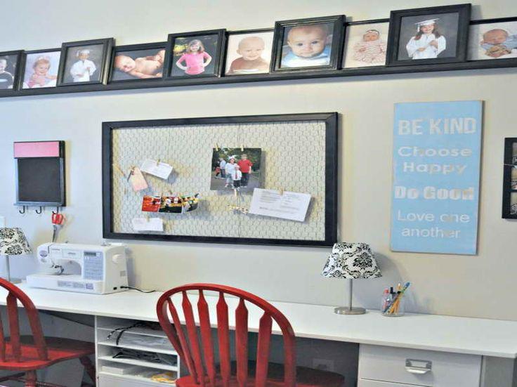 Mejores 14 imágenes de Basement Office Ideas en Pinterest | Oficina ...