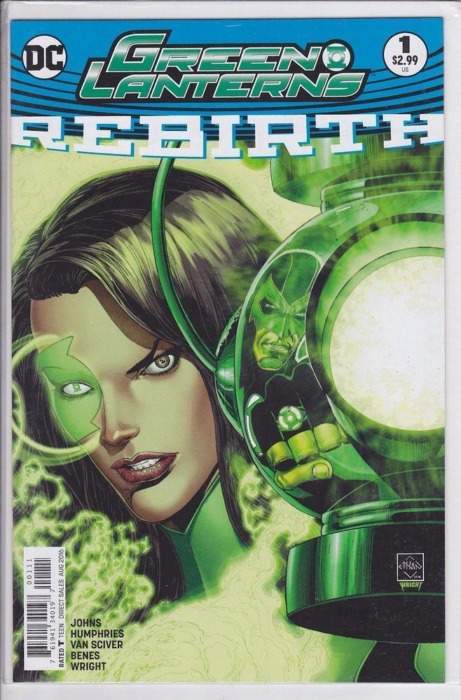 Green Lanterns #1 DC Comics 2016 Rebirth Corp one shot | Collectibles, Comics, Modern Age (1992-Now) | eBay!