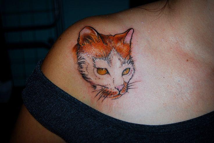 Cat tattoo.... https://www.facebook.com/pages/BAStattoo-GALLERYart-caffe/124021327663799?fref=ts