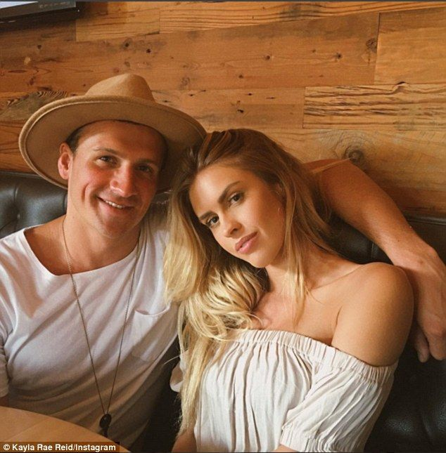 Ryan Lochte and Playboy Playmate Kayla Rae Reid are hanging out together in Rio…