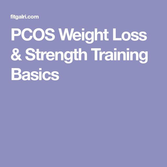 PCOS Weight Loss & Strength Training Basics