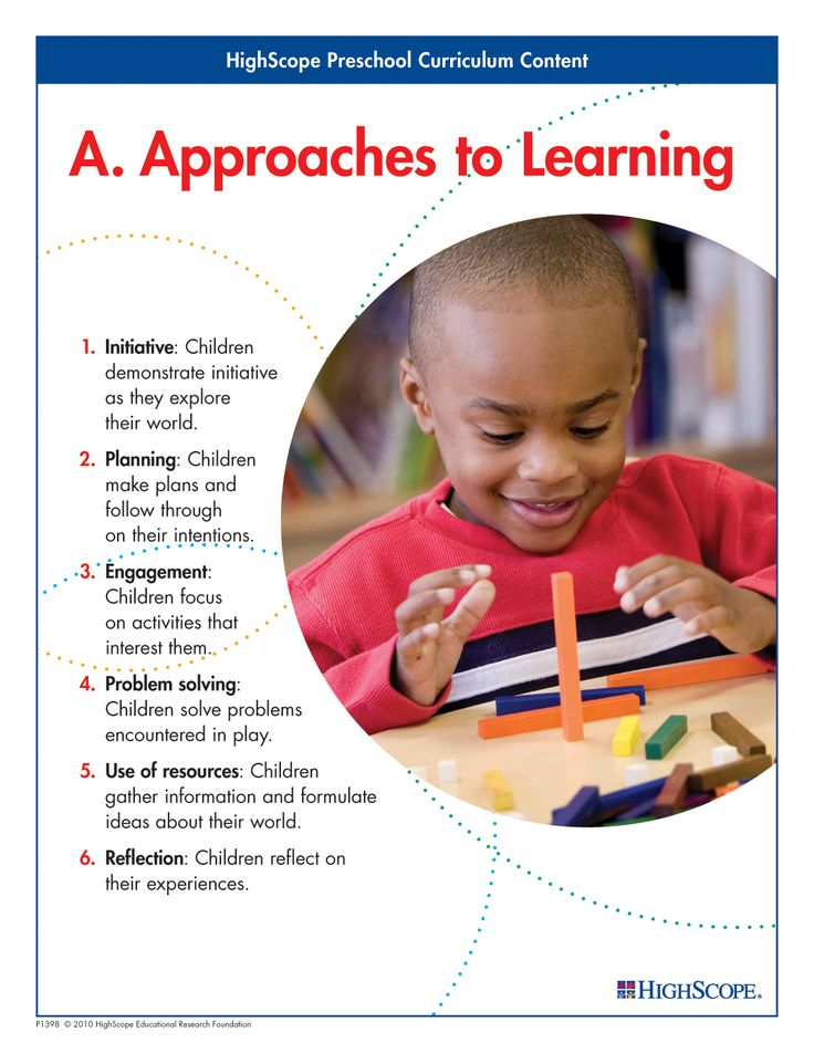 Children's approaches to learning - how they acquire knowledge and master skills - shape their educational experiences in all other content areas.