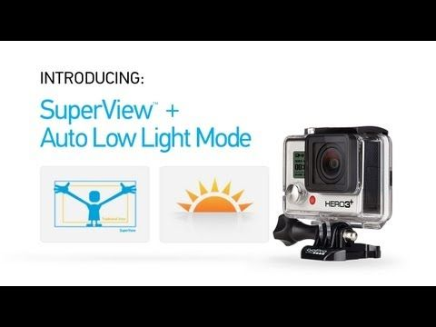 GoPro HERO3+ Introducing SuperView and Low Light Modes - YouTube  sc 1 st  Pinterest & 67 best GoPro Hero 3+ Black Edition: tips tutorials gear and ... azcodes.com