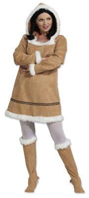 """Kostüm """"Eskimo-Dame"""" € 24,95"""