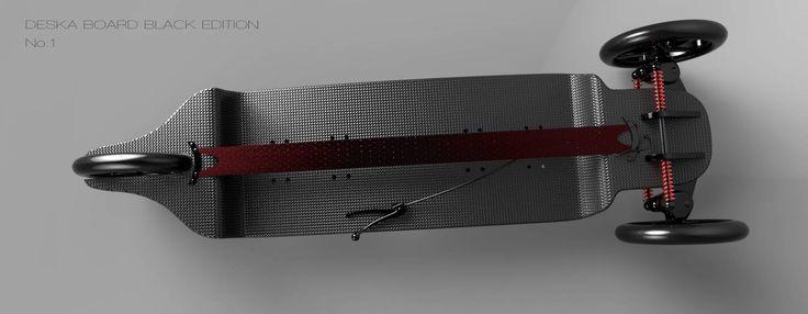 Потрясающий проект городского сёрфа от компании Deska
