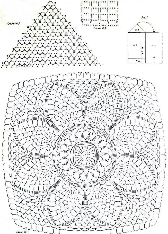 48 besten h kelleien bilder auf pinterest stricken h keln mason jars und stricken und h keln. Black Bedroom Furniture Sets. Home Design Ideas