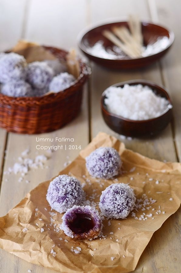 Simply Cooking and Baking...: Klepon Ubi Ungu