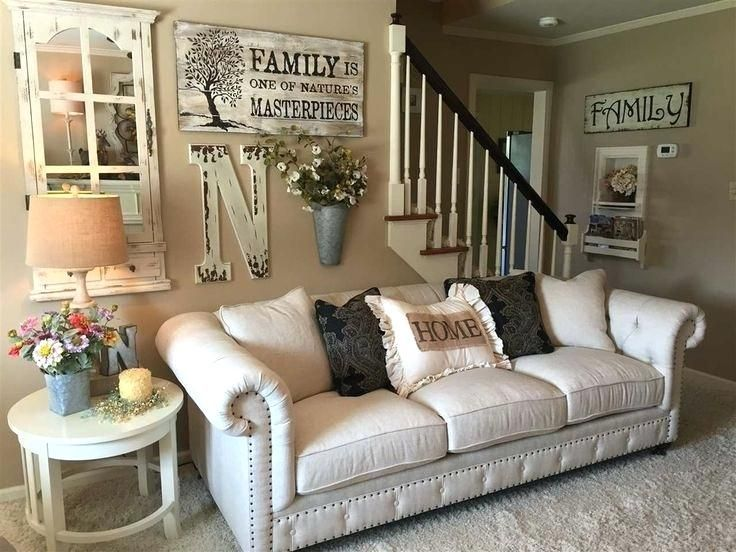 Living Room Wall Decor Ideas Large Wall Decorating Ideas For