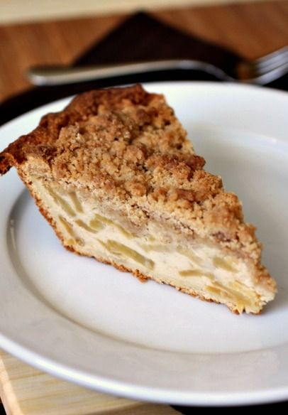 Sour-Cream Apple Pie: Made for a church dinner. Delicious! I had to substitute Splenda for the sugar because I ran out of regular sugar, but it was still great. Someone said it was the best apple pie they'd ever eaten.