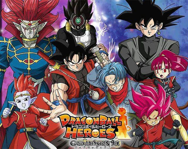 Dragon Ball Heroes Legendado Mega Dragon Ball Dragon Anime