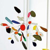 Une suspension en papier de soie coloré // We will do a kidsversion!