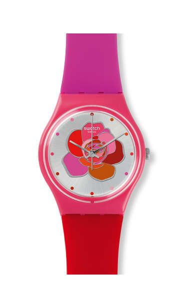1000 images about swatch me on pinterest swatch ladies watches and unisex - Jardin fleuri swatch toulouse ...