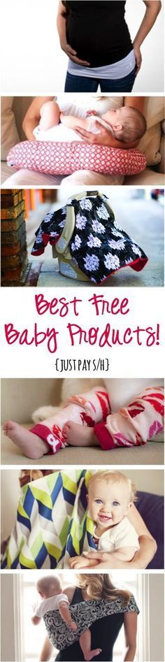 Best Free Baby Products! ~ at http://TheFrugalGirls.com - these are perfect for new Moms and also make the Best Baby Shower Gifts!! #babies #thefrugalgirls