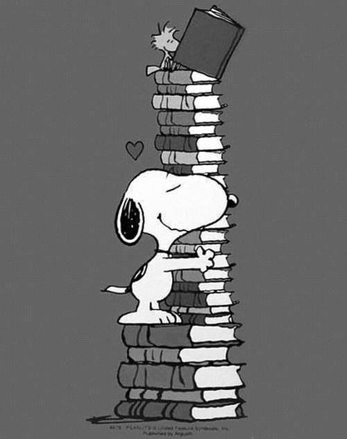 book lover...love Charles Schultz & Snoopy
