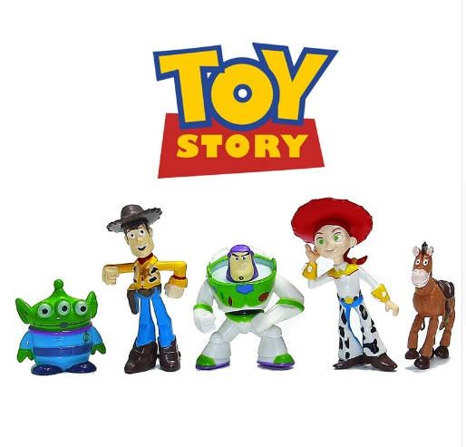 Toy Story cake toppers birthday party action figures movie toy