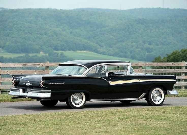 classic 1957 ford fairlane photos | The Classic Car Feed - Classic cars/vintage cars from the 30s, 40s ...
