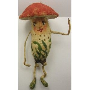 Antique rare mushroom man from the 1930s