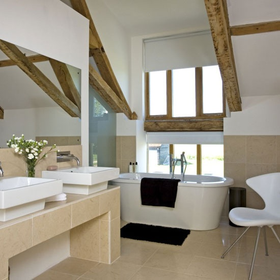 17 best images about bathroom in the attic on pinterest for Ensuite bathroom designs