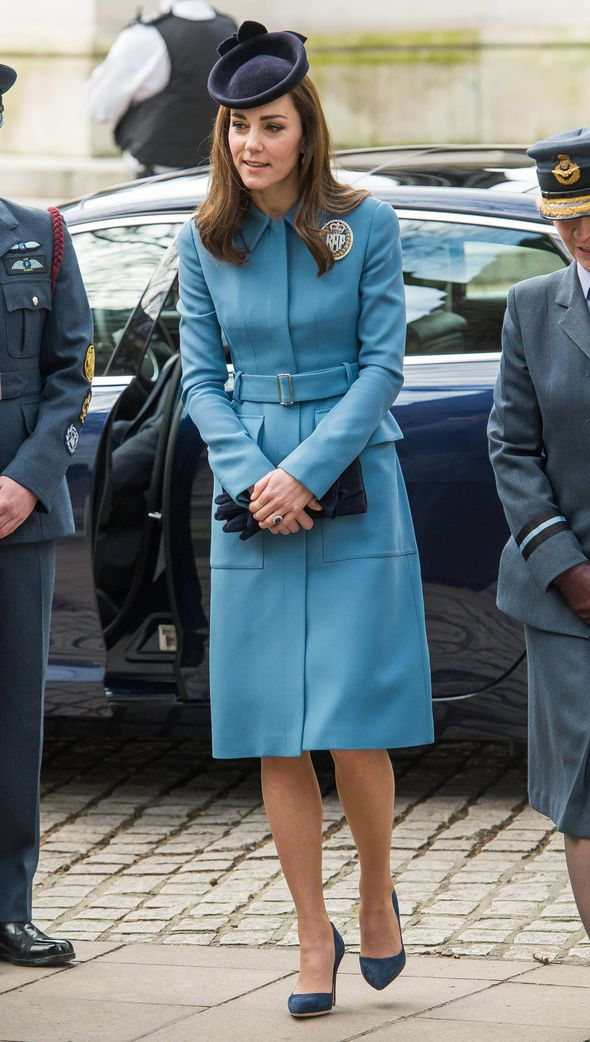 Feb 7, 2016 Duchess of Cambridge marked the anniversary year of the cadets at  a service in the RAF church, St Clement Danes, followed by a reception at the Royal Courts of Justice. Service to mark the 75th anniversary of the cadets on her first engagement as their first female honorary commandant. She matched her coat, previously worn on official engagements in New Zealand and France, with a Lock & Co hat and the RAF Air Cadets Dacre brooch.