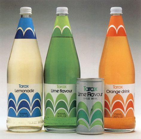 Tarax — Ken Cato Design Company (1970's) #packaging #graphic