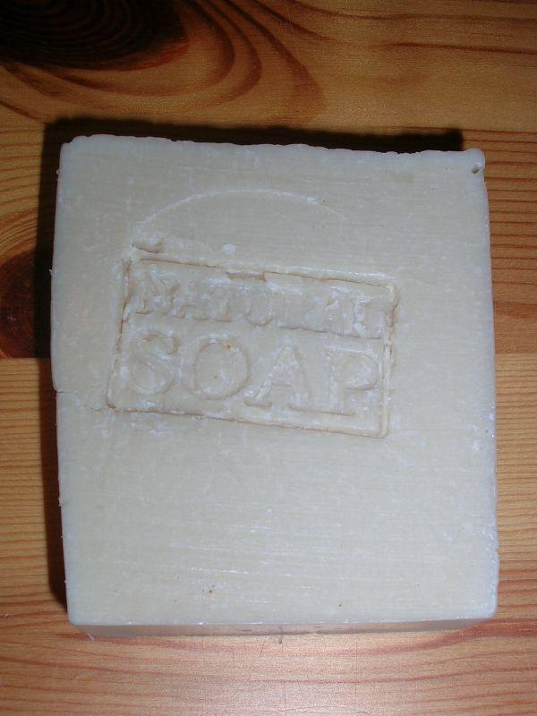 100% -olijf met kokosmelk zeep