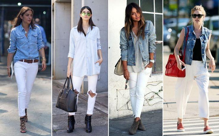 5 sposobów na białe spodnie