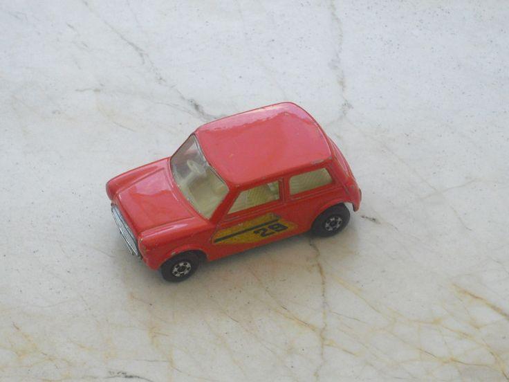 """Blechspielzeug - Matchbox Series No 29 - Racing """"Mini"""" - 1970 - - ein Designerstück von allesfuermich bei DaWanda"""