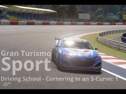 New video! #granturismosport #gtsport #sony #ps4 #ps4pro #playstation #simulator #game #games #drivingschool #cornering #scurve #one #hyundai #genesis #genesisgr4 #racecar #cars #tracks #online #roadracing #rallyracing