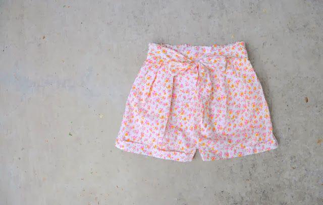 yo elijo coser: DIY: cómo hacer unos shorts