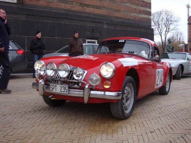 MGA at the Monte Carlo Rally