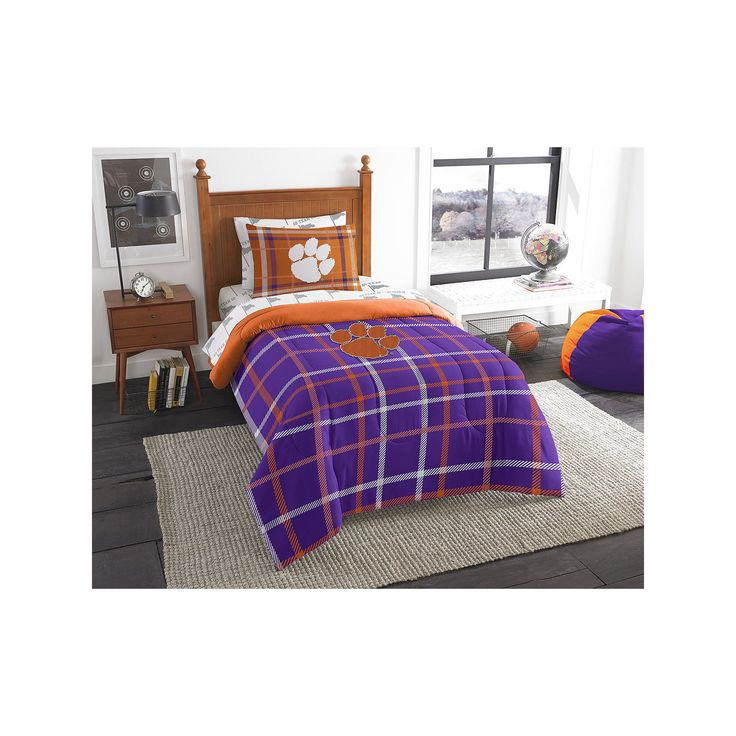 Ncaa Clemson Tigers Full Bed Set Orange Cotton Bedding: 25+ Best Ideas About Twin Comforter Sets On Pinterest