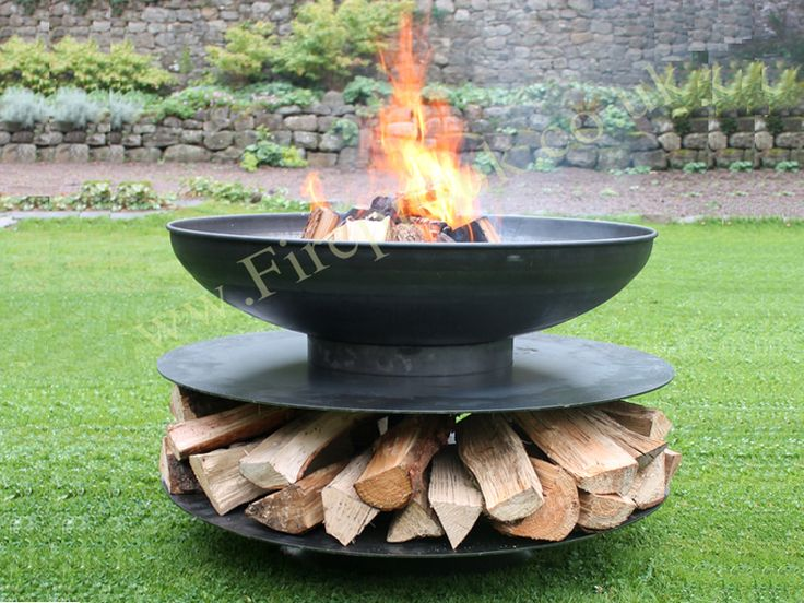 90cm diameter and includes the swing arm bbq rack