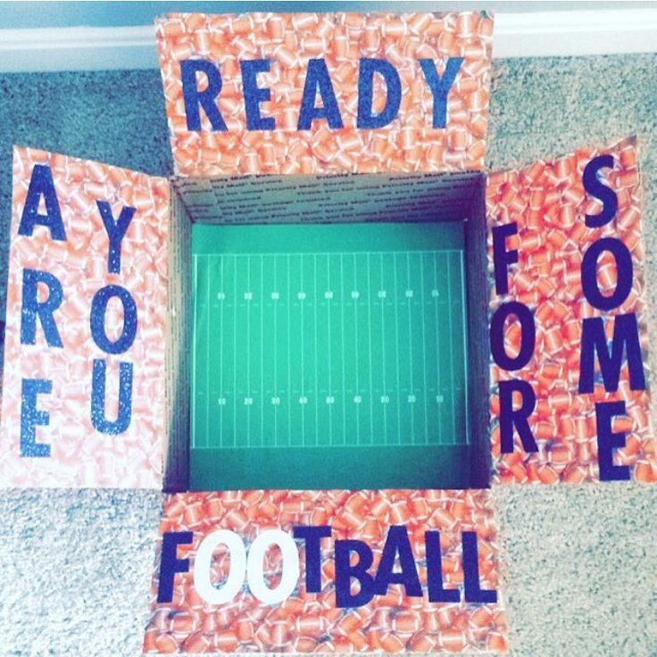 """Getting ready for football season! My boyfriend loves football season but will miss it this year on deployment"" Thanks for sharing @cars90"