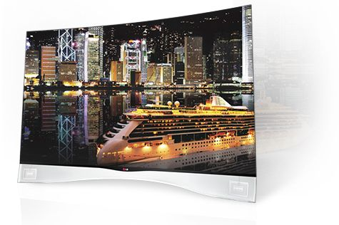 LG And Samsung Announce 105-inch Curved Televisions #ZAGGdaily #LG #Samsung #TV