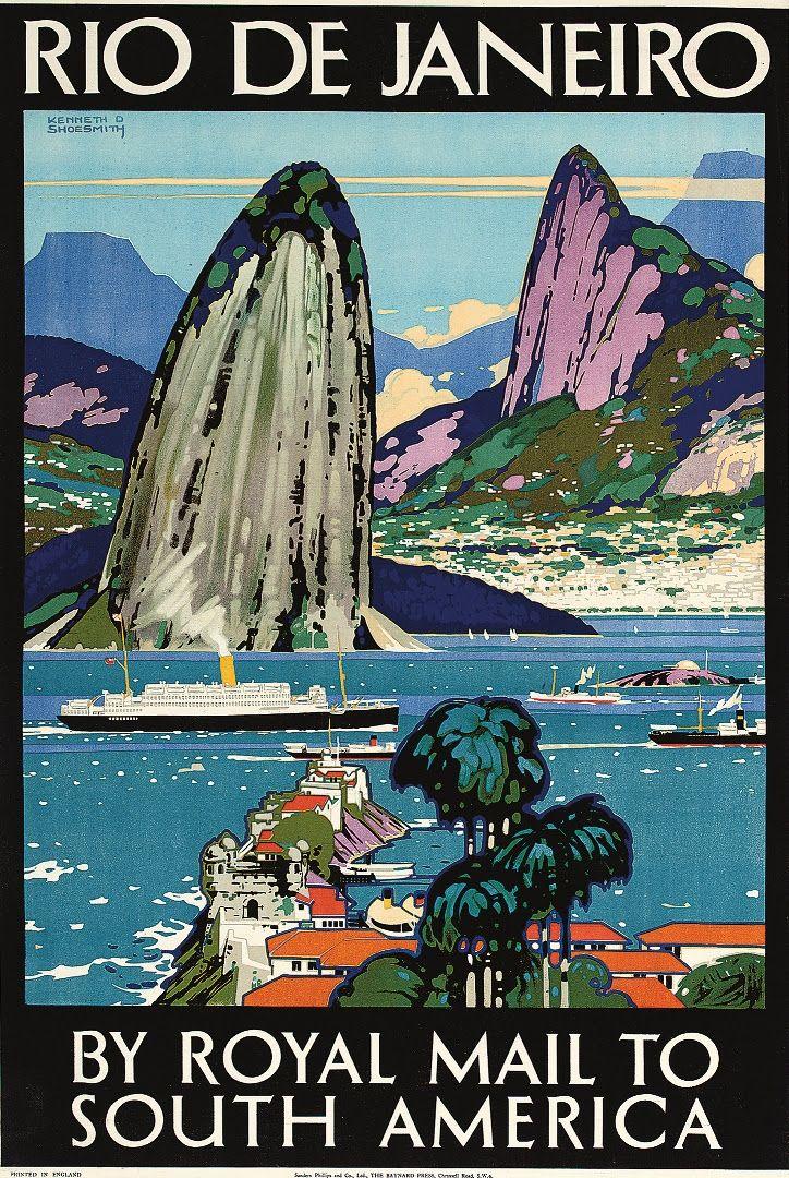 """Por muitos anos, o Rio de Janeiro foi a porta de entrada para a América Latina para os viajantes que vinham da Europa e dos Estados Unidos. Para conquistar cada vez mais novos turistas, as companhias marítimas e aéreas usavam as belezas da cidade como artifícios. As empresas contratavam artistas que pintavam as paisagens paradisíacas...<br /><a class=""""more-link""""…"""