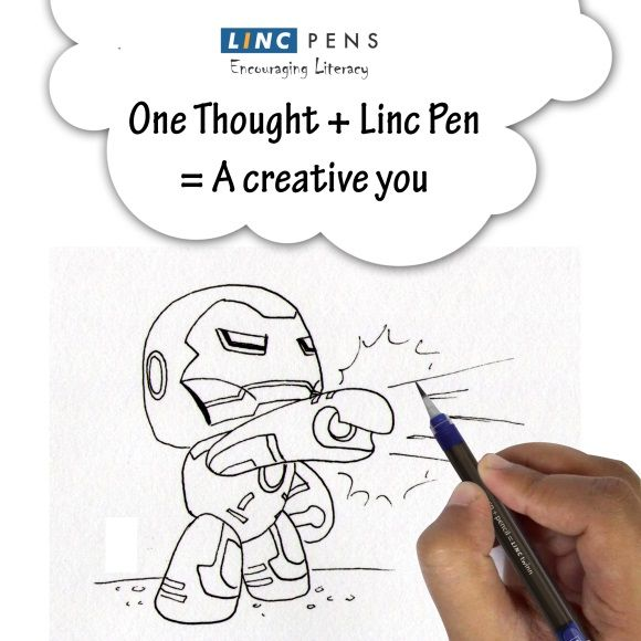 Bring out the creative you, with our Linc Pen.   #Pens #Inspire #Inspiration #Creative #LincPens