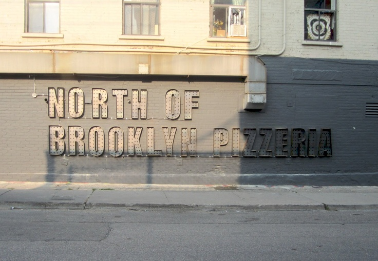 North of Brooklyn - best by the slice pizza in Toronto