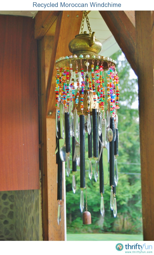 Spoons, beads and a brass teapot. #windcatcher #crafting #mixedmedia