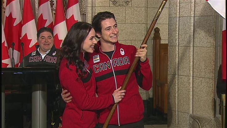 Tessa Virtue, Scott Moir named Canada's Olympic flag-bearers for Pyeongc...