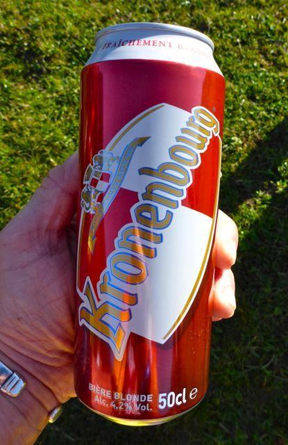 KRONENBOURG BIERE BLONDE - French Beer - http://www.JuergenSchreiter.com #frenchbeer #kronenbourg #blonde #bierre #biere #export #bier #beer #lager #dosenbier #cerveza #piva #pivo #brandambassador #visonary