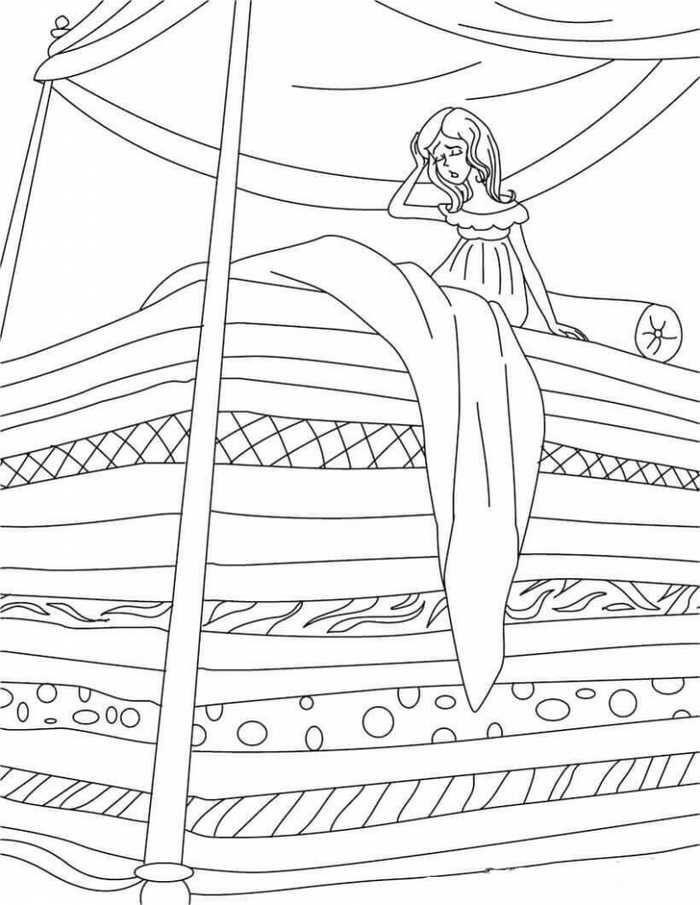 Printable Princess Coloring Pages Princesas Conto De Fadas E