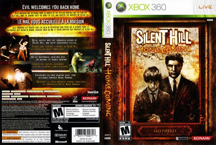 Silent Hill Homecoming XBOX 360 COMPLETE
