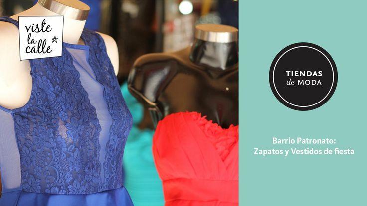 Tiendas de Moda: Zapatos y Vestidos de fiesta en Patronato. http://www.vistelacalle.com/96073/tiendas-de-moda-ropa-y-zapatos-de-fiesta-en-pa...