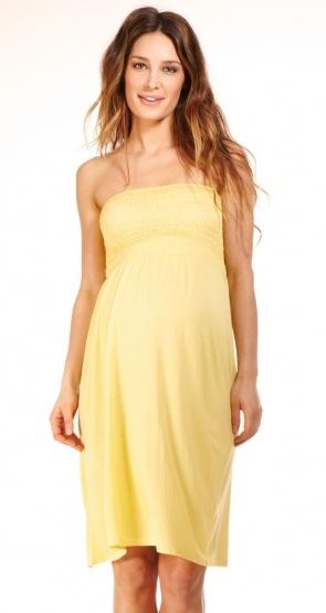 Soyez la plus belle avec notre robe jupe longue grossesse Smock Jaune. Retrouvez les vêtements future maman de l'été sur enviedefraises.fr