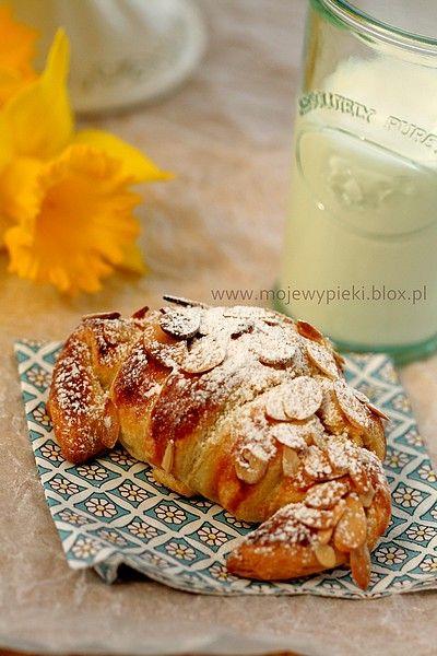 Migdałowe croissanty