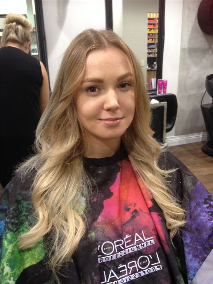 """Balayage by me Nyree hairdresser """"salon sorelle helensvale on Gold Coast"""